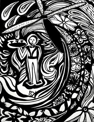 Zentangle-Tidal-Wave-Dream