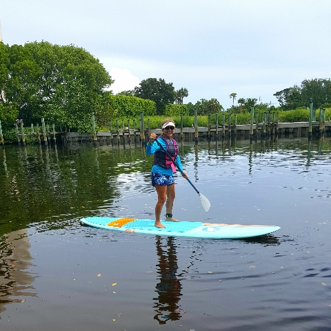 Here-I-Am-Standing-on-my-Paddle-Board