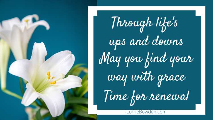 AN EASTER PRAYER FOR RENEWAL